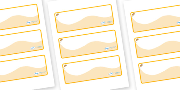Dormouse Themed Editable Drawer-Peg-Name Labels (Colourful) - Themed Classroom Label Templates, Resource Labels, Name Labels, Editable Labels, Drawer Labels, Coat Peg Labels, Peg Label, KS1 Labels, Foundation Labels, Foundation Stage Labels, Teaching