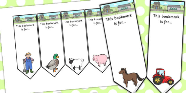 Farmer And Duck Editable Bookmarks - farmer duck, editable, editable bookmark, bookmarks, awards, bookmark awards, reading, reward bookmarks, themed bookmarks