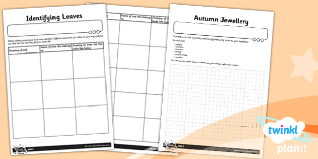 Art: LKS2 Autumn Home Learning Tasks
