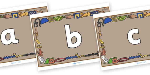 Phoneme Set on Egyptian Bricks - Phoneme set, phonemes, phoneme, Letters and Sounds, DfES, display, Phase 1, Phase 2, Phase 3, Phase 5, Foundation, Literacy