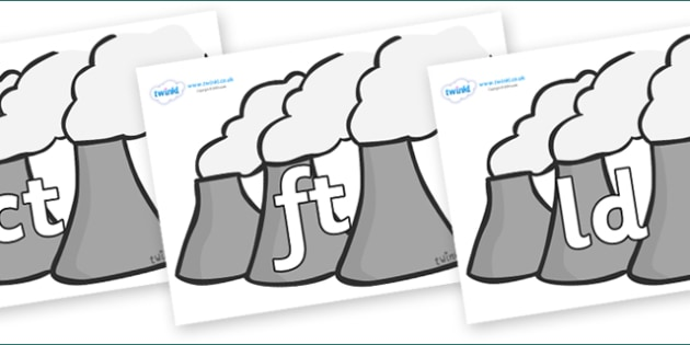Final Letter Blends on Power Stations - Final Letters, final letter, letter blend, letter blends, consonant, consonants, digraph, trigraph, literacy, alphabet, letters, foundation stage literacy