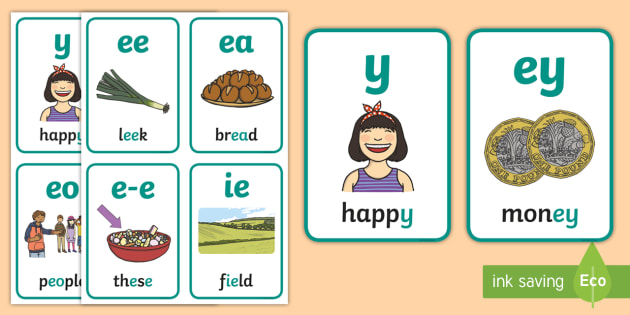 My ee Sound Family Flashcards - My AI Sound Family Flashcards,Sound family, ai, alternate spellings, alternate spellings for phoneme