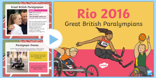 British Paralympians PowerPoint