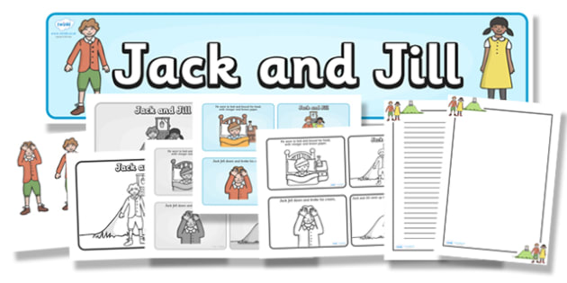Jack and Jill Resource Pack - jack and jill, resource pack, pack of resources, themed resource pack, jack and jill pack, lesson ideas, resources