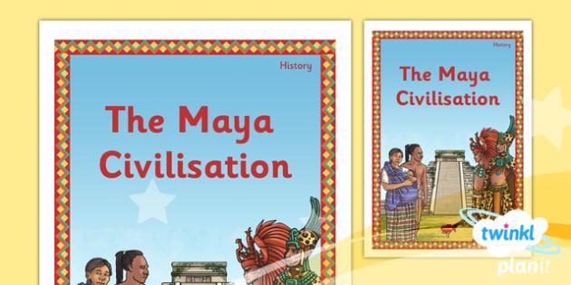 History: The Maya Civilisation UKS2 Unit Book Cover