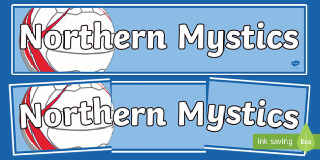 Northern Mystics Netball Display Banner