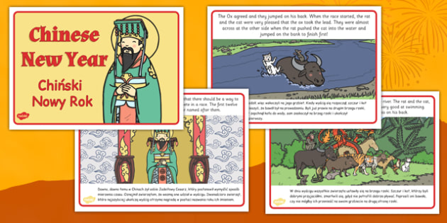 Chinese New Year Story Polish Translation - polish, chinese new year, story