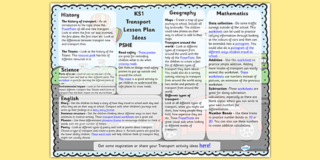 Transport Lesson Plan Ideas - transport, lesson plan, transport lesson, transport ideas, lesson plan ideas, transport ideas, lesson plan about transport