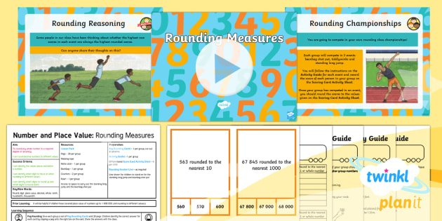 PlanIt Y5 Number and Place Value Lesson Pack Rounding (2) - Number, Place Value, round, measurement, Round any whole number up to 1 000 000 to the Nearest 10, 1