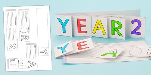 Year 2 Write Up Booklet - Year 2 End of School Activities