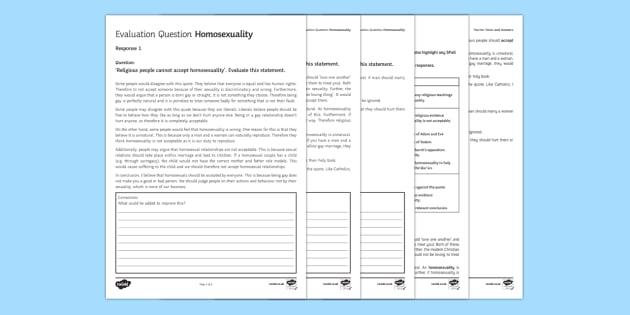 RS GCSE AfL Assessment Pack