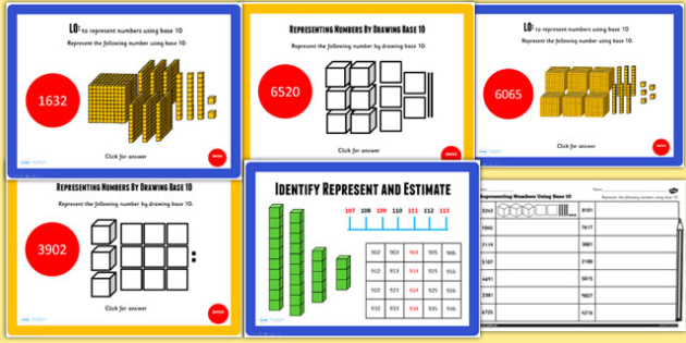 Year 4 Identify Represent Estimate Lesson 1 Teaching Pack - maths