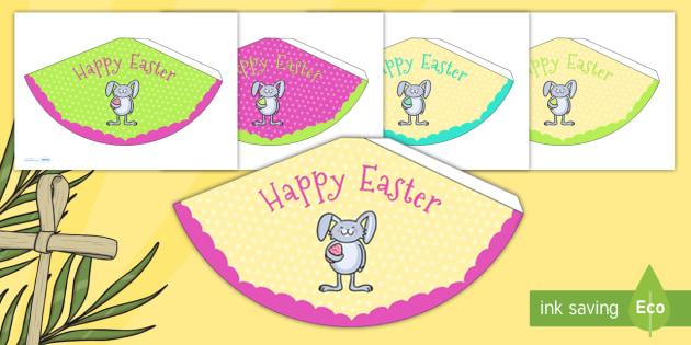 Easter Party Party Cones - easter, easter party, party cones