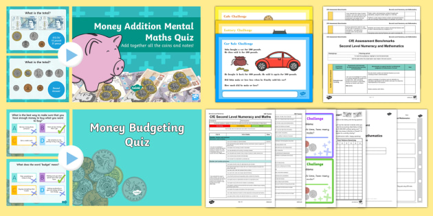 CfE Numeracy and Mathematics – Second Level – Number, Money and Measure – Money Resource Pack