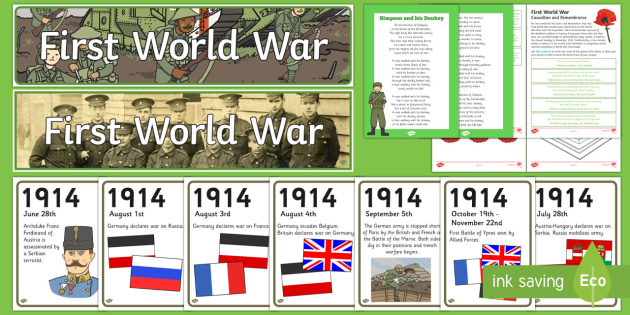 World War One Resource Pack - History Club, World War One, Life long learning, Ideas, support, Elderly care, Care homes, Activity