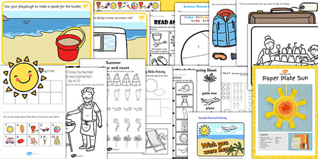 EYFS Summer End of Year Activity Pack - EYFS Transition