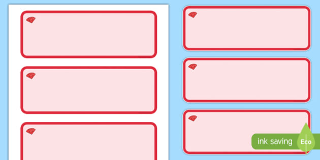 Ruby Red Themed Editable Drawer-Peg-Name Labels (Colourful) - Themed Classroom Label Templates, Resource Labels, Name Labels, Editable Labels, Drawer Labels, Coat Peg Labels, Peg Label, KS1 Labels, Foundation Labels, Foundation Stage Labels, Teaching