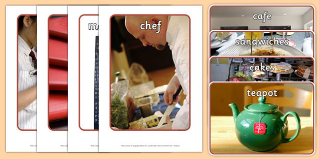Cafe Display Photos - Cafe, Shop, photo, display photo, coffee, tea, waitress, till, cakes, cake, milk, sugar, table, chairs