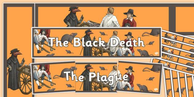 The Black Death Display Pack - the black death, history, display pack, display, pack
