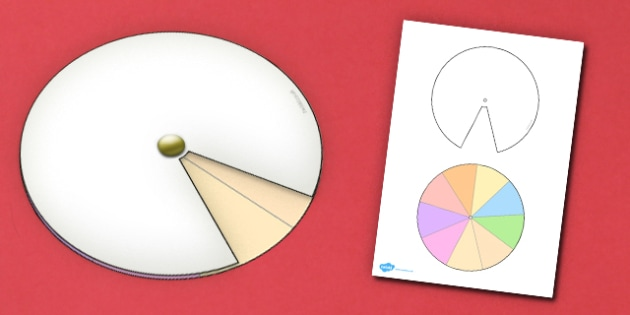 Interactive Notebook Spinner 1 9th - paper craft, visual aid