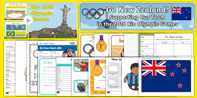 Top 10 New Zealand Olympics Resource Pack