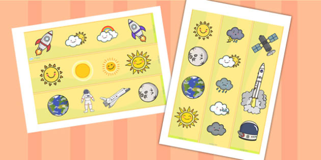 Earth and Sun Display Borders - earth and sun, display, borders, display borders, classroom display borders, display board borders, earth and sun themed