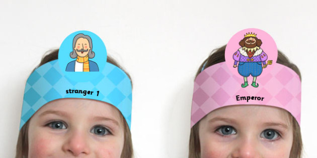 The Emperor's New Clothes Role Play Headband - roleplay, props
