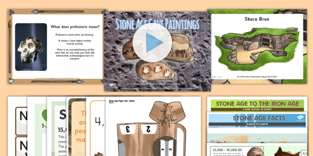 The Stone Age Resource Pack - History Club, Stone Age, Life Long Learning, Ideas, Support, Elderly Care, Care Homes, Activity Coor