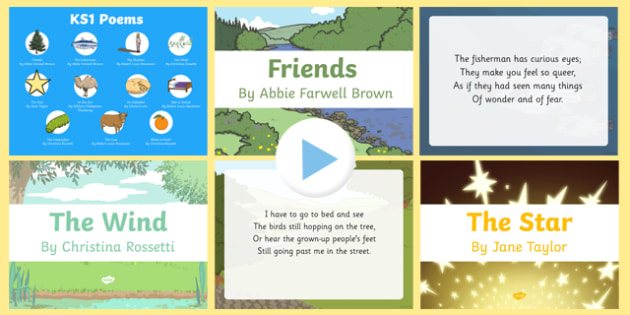Mixed KS1 Poems PowerPoint