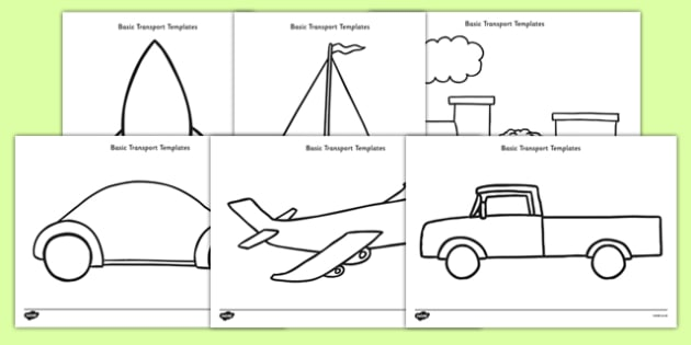 Basic Transport Template Resource Pack - basic, template, resource pack, resource, pack, transport