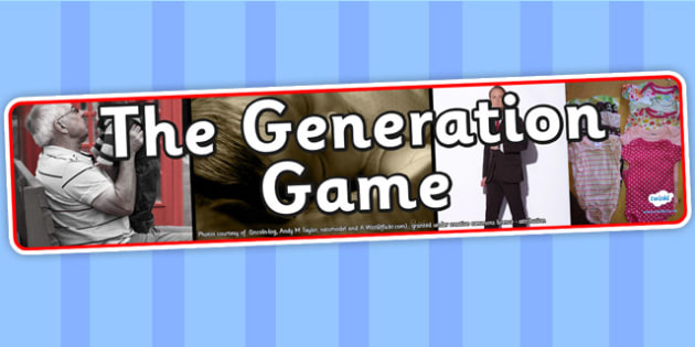 The Generation Game Photo Display Banner - generation game, IPC display banner, IPC, generation game display banner, IPC display, generations