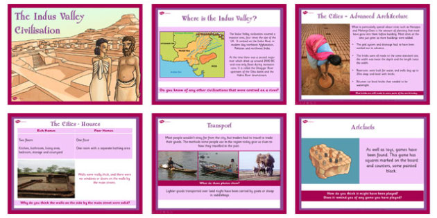 Introduction to the Indus Valley Civilisation PowerPoint - KS2