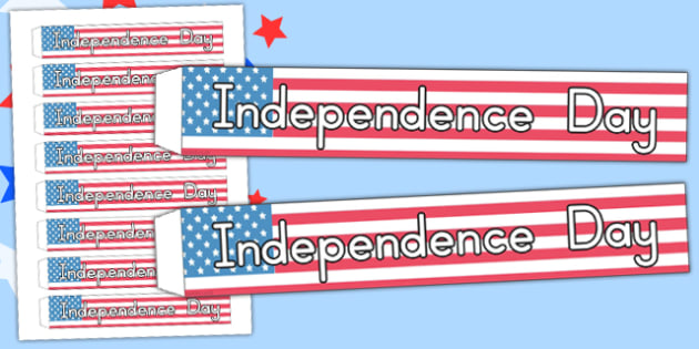 Independence Day Wristbands - independence day, wristbands, band