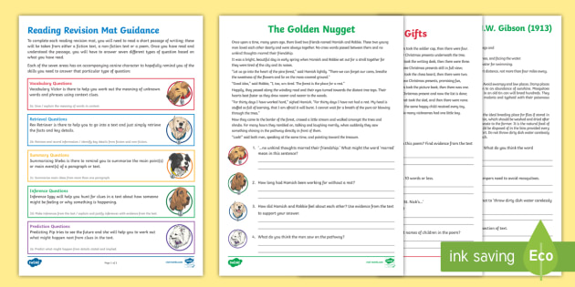 Year 3 Reading Revision Activity Mat Pack 2 Reading Dogs