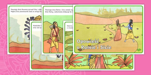 Plansze Opowieść o Ramie i Sicie