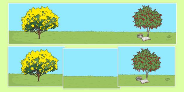 Bush Magic Small World Background - australia, possum magic, bush magic, small world background
