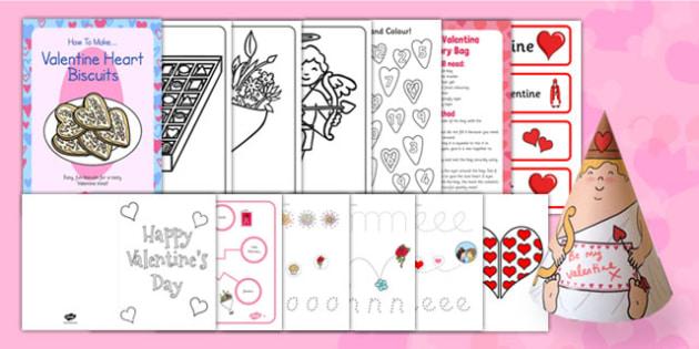 Valentine's Day SEN Resource Pack - valentines day, sen, resource pack, resource, pack, valentine