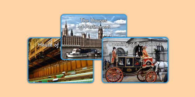 SMSC The UK Political System Photo Pack - british values, politics, uk