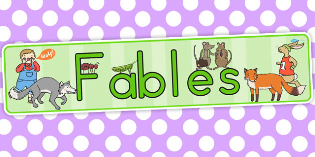 Fables Display Banner - australia, display banner, fables, banner