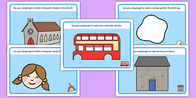 2D Shape Playdough Mats - Playdough mat, playdough resources, 2D shapes, shape learning, shape names, shape Pictures, Shape Words, playdough, numeracy, geometry, shapes, 2d, playdough mats