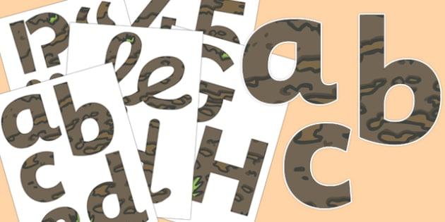 Soil Display Lettering - soil, display lettering, display, lettering