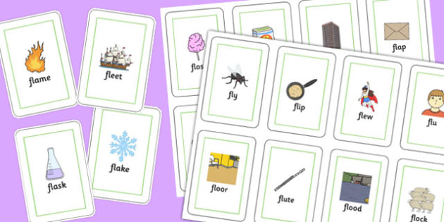 FL Playing Cards - sen, sound, special educational needs, fl, playing cards