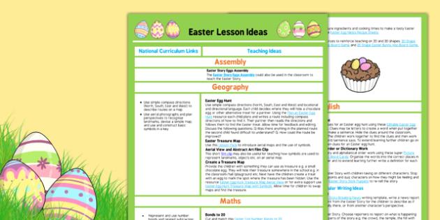 Easter Teaching Ideas - easter, teaching, ideas, teach, idea