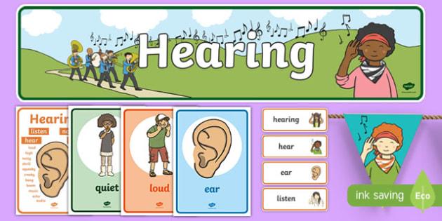 Hearing Display Pack