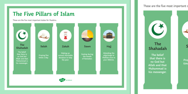 five pillars of islam essay Read five pillars of islam essays and research papers view and download complete sample five pillars of islam essays, instructions, works cited pages, and more.