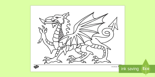 Twinkl Farm Animal Colouring Pages : Welsh primary resources wales cymru page 1