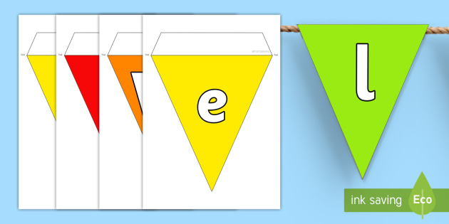 Welcome to Primary One Multicoloured Display Bunting - bunting, display