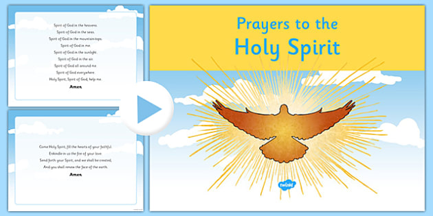 Prayers to the Holy Spirit PowerPoint