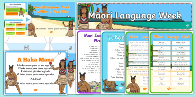 Maori Language Week Resource Pack