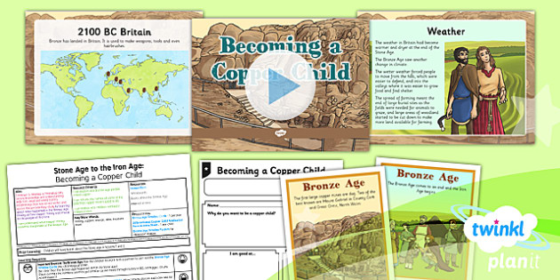 History: Stone Age to the Iron Age: Becoming a Copper Child UKS2 Lesson Pack 3